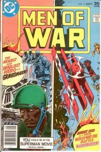 MEN OF WAR (1977-1980) 2 VF-NM Sept. 1977 COMICS BOOK