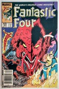 Fantastic Four #277 MARK JEWELERS VARIANT