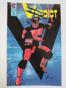 The Verdict #1 (Eternity 1987) Signed by Dean Haspiel 1st Published Work