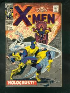 X-MEN #26 1966-MARVEL-JACK KIRBY FN
