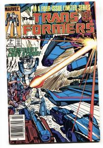 TRANSFORMERS #4-comic book-1985-Marvel-