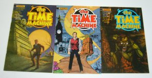H.G. Wells' the Time Machine #1-3 FN complete series adapts the novel - comics