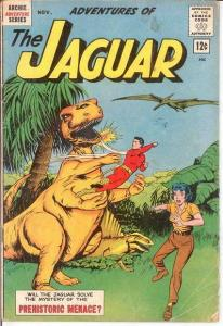 ADVENTURES OF THE JAGUAR 10 G+ COMICS BOOK