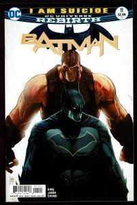 Batman #11 Rebirth (Jan 2017, DC) 0 9.2 NM-