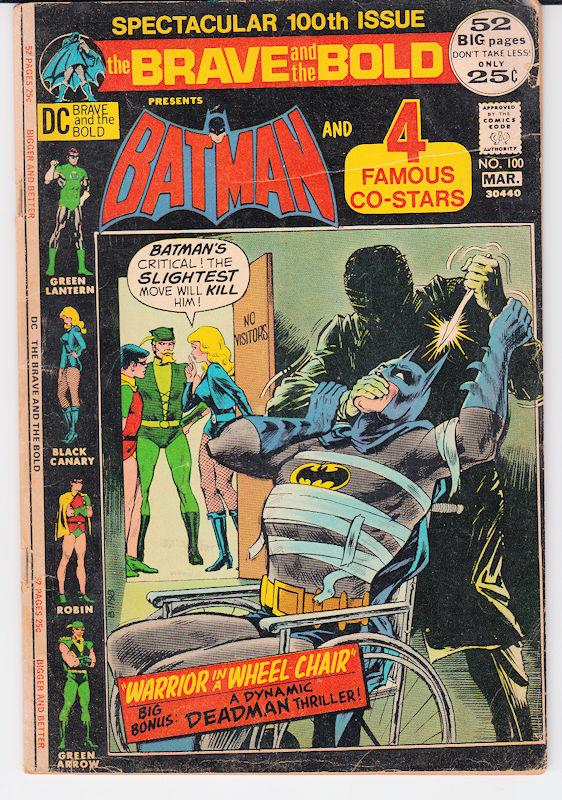 The Brave and the Bold #100 Batman and Green Lantern, Robin & More Jim Aparo art