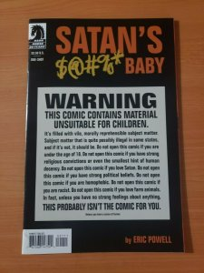 Satan's Sodomy Baby #1 Signed Eric Powell ~ NEAR MINT NM ~ 2007 Dark Horse