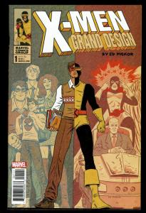 X-Men Grand Design #1  (Feb 2018, Marvel)  9.2 NM-