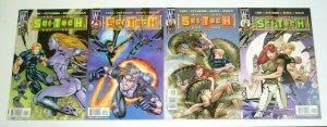 Sci-Tech #1-4 VF/NM complete series - ed benes - brandon choi - wildstorm 2 3