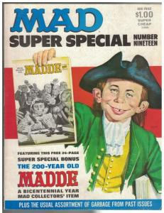 MAD SPECIAL (1970-    ) 19 VG-F  1976