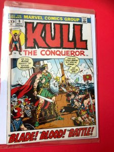 KULL THE CONQUEROR #5 1972 MARVEL / MID- QUALITY