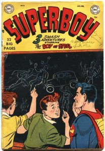 SUPERBOY #12-1951-BOY OF STEEL-EARLY DC SUPER HERO ISSUE