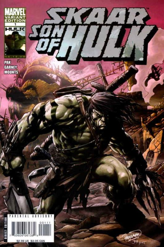 Skaar: Son of Hulk #1A VF/NM; Marvel | save on shipping - details inside