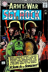 Our Army at War #172 (1966)