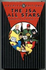The JSA All Stars Archives Vol 1 hardcover-rare- high grade