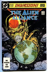 Invasion #1 1988 DC comic book First issue