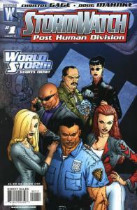 STORMWATCH PHD (2006 WS/DC ) 1-24 'Post Human Division' COMICS BOOK
