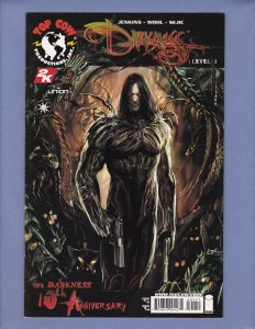 Darkness Level #1 VF/NM Front/Back Cover Scans Top Cow Image 2007