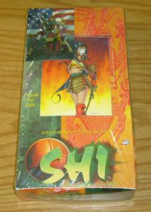 Bill Tucci's Shi: Visions of the Golden Empire sealed box of cards - 36 packs