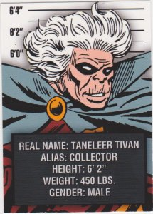2015 Avengers Silver Age Trading Cards-Classic Villains #CV8 The Collector