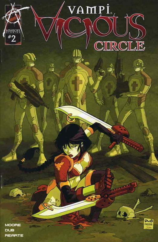 Vampi Vicious Circle #2B VF/NM; Anarchy | save on shipping - details inside