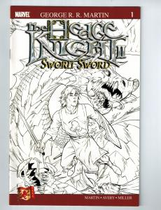 The Hedge Knight 2 Sworn Sword # 1 Dabel Brothers Collection Marvel Comic Sketch