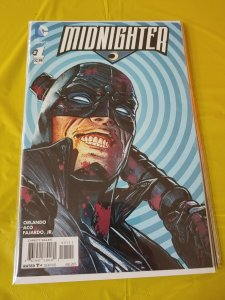 Midnighter (2015 series) #1 in Near Mint + condition. DC comics vf