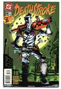 DEATHSTROKE #58 comic book 1996 Joker cover-DC NM-