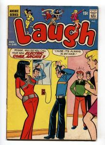 LAUGH #245-1971-MLJ/ARCHIE-Electric comb cover-BETTY-VERONICA-JUGHEAD-vg