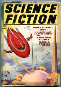 Science Fiction Pulp #2 June 1939- World's Fair cover- Eando Binder G