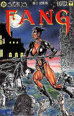 Fang (Sirius) #2 VF/NM; Sirius | save on shipping - details inside