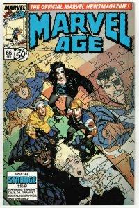 Marvel Age #66 (Marvel, 1988) VF