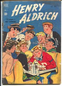 Henry Aldrich #3 1950-soda shop-ice cream cover-G
