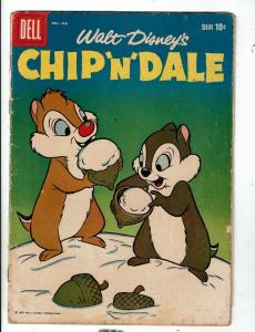 Walt Disney's Chip 'N' Dale # 16 VG Dell Silver Age Comic Book Chipmunks JL1