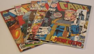 Marvel Comics Mixed Lot of 5- CABLE #1,2,1,2 &37 (See scans) F/VF (SIC685)
