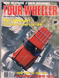 Four Wheeler Magazine Vol. # 21 # 3 March 1984 Toyota Ford Chevy Jeep J70