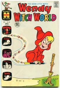 WENDY WITCH WORLD #42 1971-HARVEY COMICS CASPER FN/VF
