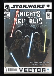 Star Wars: Knights of the Old Republic #25 VF/NM 9.0