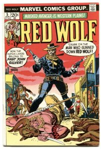 Red Wolf  #5 1973- Marvel bronze age comic VF