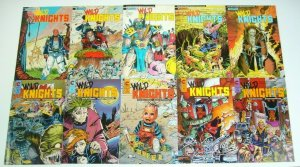 Wild Knights #1-10 VF/NM complete series - evan dorkin - ex-mutants set lot 1988