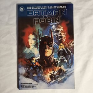 Batman and Robin Movie 1 Very Fine+ Painted cover by C. Michael Dudash