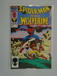 Spider-Man vs. Wolverine #1 6.0 FN (1987 1st Edition)