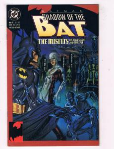 Batman Shadow Of The Bat #7 VF/NM DC Comics Comic Book Grant JLA Dec 1992 DE45