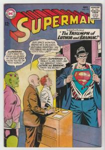 Superman #173 (Nov-64) VG/FN Mid-Grade Superman, Jimmy Olsen,Lois Lane, Perry...