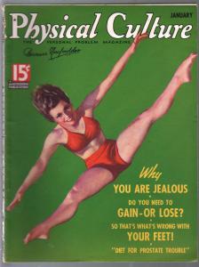 Physical Culture 1/1936-swimsuit girl-exploitation-George Larkin-FN