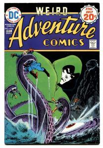 ADVENTURE  #436 1975-SPECTRE-DC COMICS-comic book