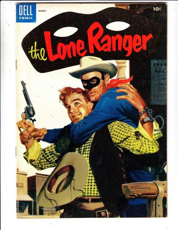 Lone Ranger, The #81 (Mar-55) VF+ High-Grade The Lone Ranger, Tonto, Silver