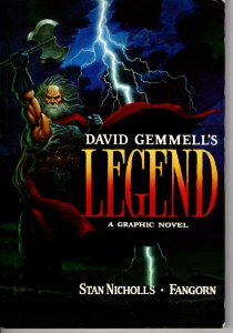 David Gemmell's Legend A Graphic Novel! 1st Edition! Rare & Out of Print!
