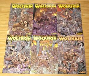 Warren Ellis' Wolfskin: Hundredth Dream #1-6 VF/NM complete series 2 3 4 5 set