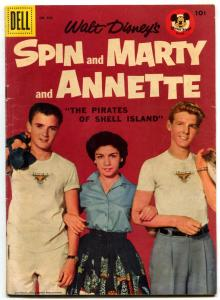 Spin & Marty & Annette- Four Color Comics #826- Pirates Shell Island FN