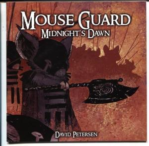 Mouse Guard #5 2006 MIDNIGHT'S DAWN-David Petersen NM-